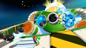 Super Mario Galaxy 2 screenshot: It's like crack but less calming.